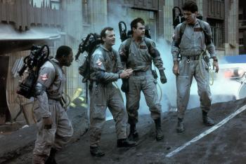 Ernie Hudson, Ghost Buster (far left)