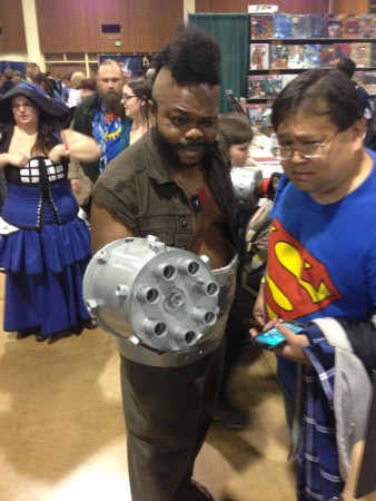 Comparing objects of interest at the Eugene Comic Con./Brian Kearney