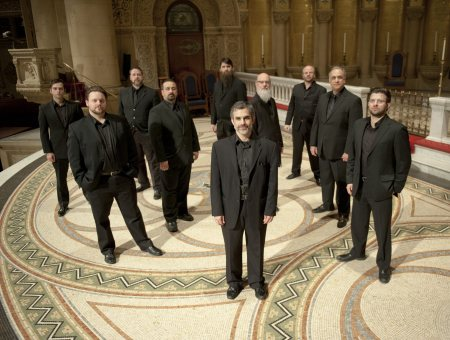 Cappella Romana's male vocal ensemble sings Byzantine and Roman chant in Portland.