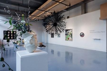 'Eyeshine' features the work of Wendy Given and Ryan Pierce at Autzen Gallery, PSU/Photo by  Matt Blum