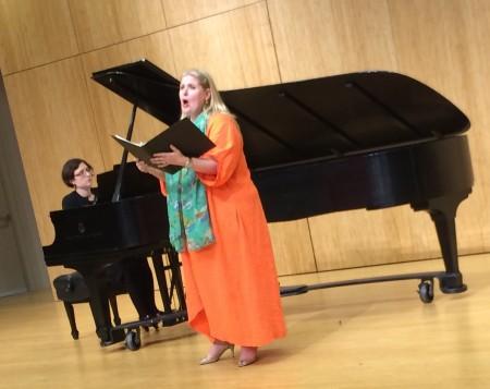 Susan McDaniel and Nicole Leupp Hanig performed music by Cynthia Gerdes at Crazy Jane.