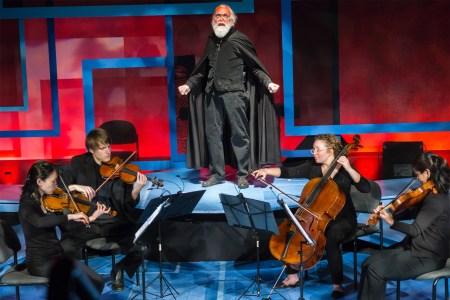 Delgani Quartet's Man of Words concert.