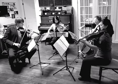 Delgani String Quartet. Photo: Mike Bragg.