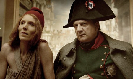 """Marianne and Napoleon take in some art in """"Francofonia."""""""