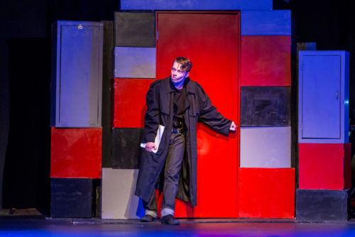 """Outstanding actor nominee Ethan Crystal in """"Heathers: The Musical"""" at Triangle Productions. Photo: David Kinder"""