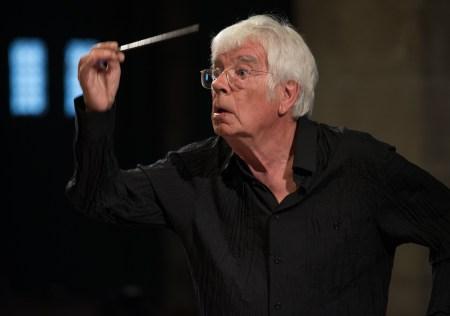 Helmuth Rilling conducted Willamette Master Chorus. Photo: Holger Schneider.