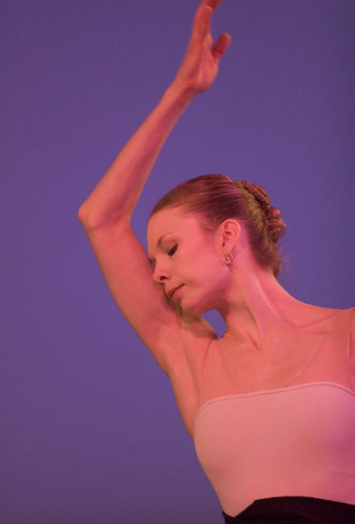 Gavin Larsen, the Everyday Ballerina. Photo: Blaine Truitt Covert