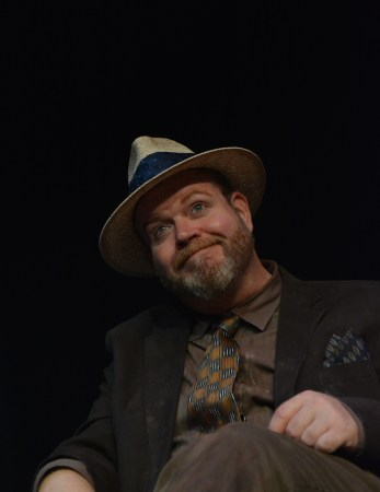 Todd Van Voris as Erie in Imago's 'Hughie.'