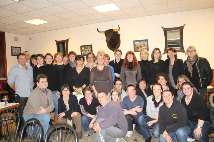 """La deuxième réunion des """"Anciennes"""" a regroupé beaucoup de participants"""