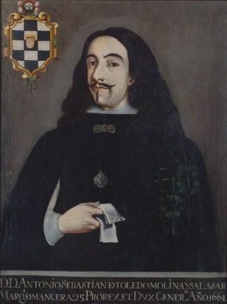 Antonio Sebastián de Toledo Molina y Salazar, marqués de Mancera