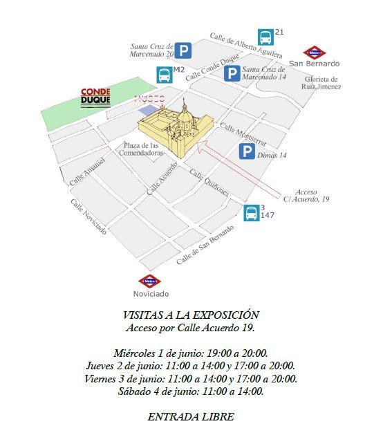 Exposición de acuarelas en el Real Monasterio de las Comendadoras de Santiago de Madrid 02