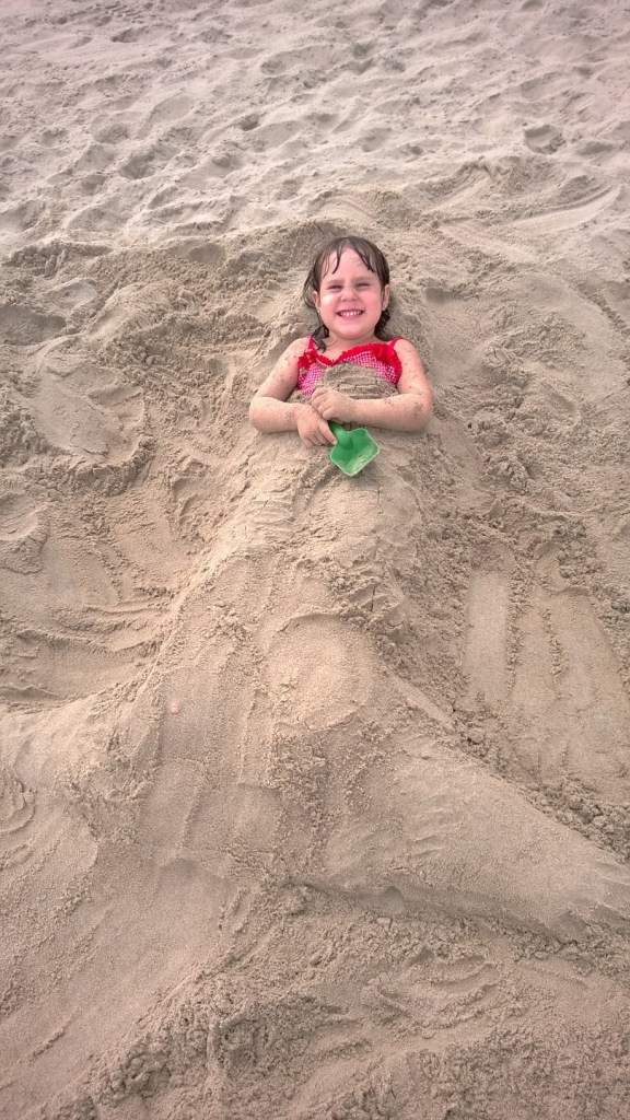 A little mermaid.