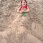 A little mermaid.