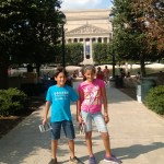 After a visit to the National Archives.