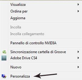 Icona cestino Windows