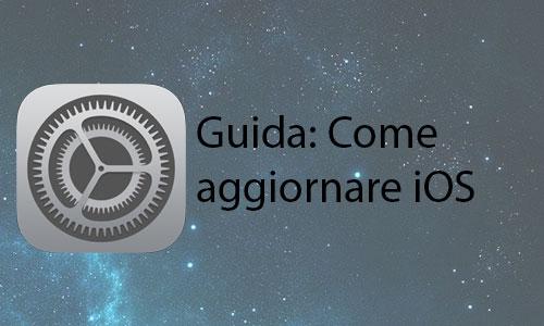 Come eseguire l'aggiornamento di iOS con iPhone e iPad