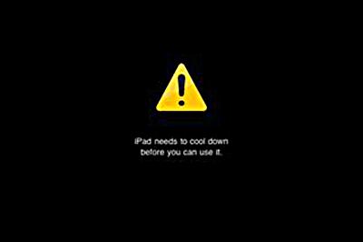 iPad e il surriscaldamento