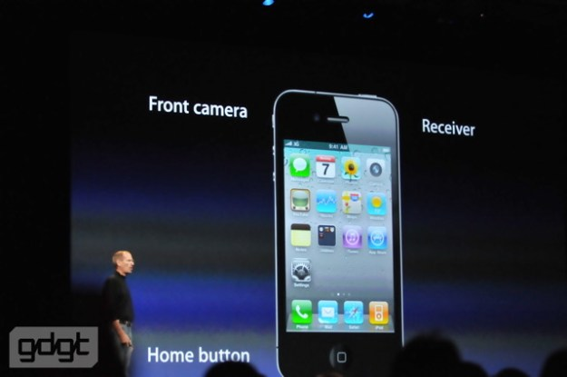 iPhone 4 Fronte