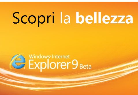Download IE 9 beta ITA