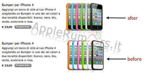 Apple Store Cancella iPhone 4 bianco??