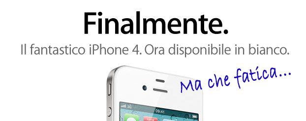 iPhone 4 Bianco finalmente