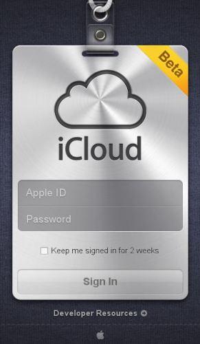 iCloud Home Page