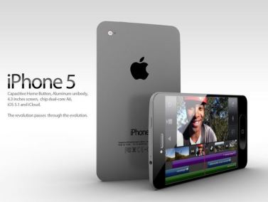 iPhone 5 concept ADR screenshoot