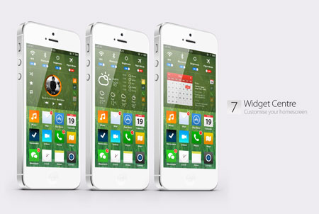 Video &#8211; E se iOS 7 assomigliasse a Windows Phone 8? Vi piacerebbe?