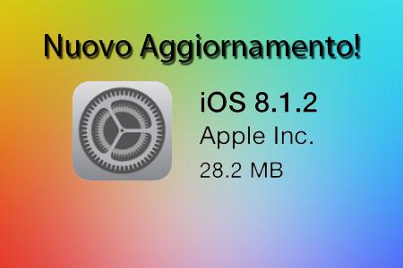Rilasciato iOS 8.1.2, addio jailbreak con Taig?