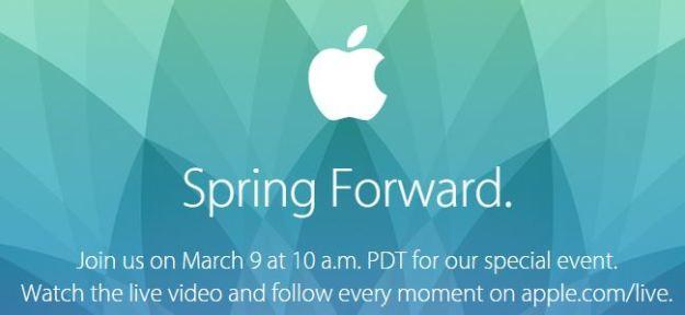 Evento Apple il 9 Marzo, si parlerà di Watch?