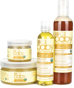 Trillium organics baby skin care products
