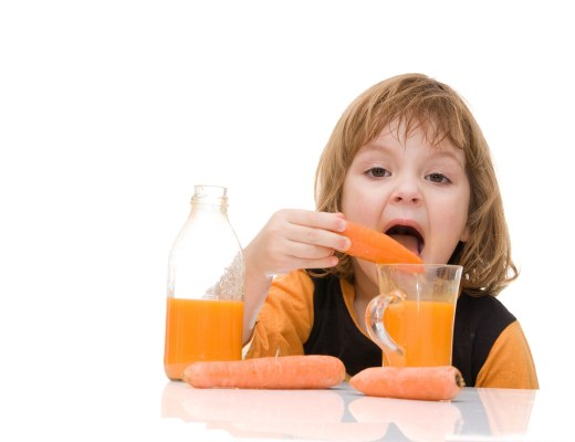 Try to encourage your toddler to get their vitamins from real foods.