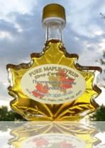 Sirope de Maple Puro- 10 x 50mL- Hojas de Vidrio