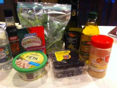 Spinach ingredients