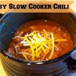 Slow Cooker Chili Recipe #BacktoSchoolWeek