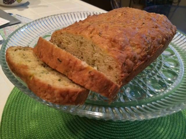 Simple recipe for buttery zucchini bread