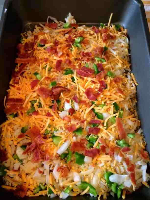 Bacon-hashbrown-casserole