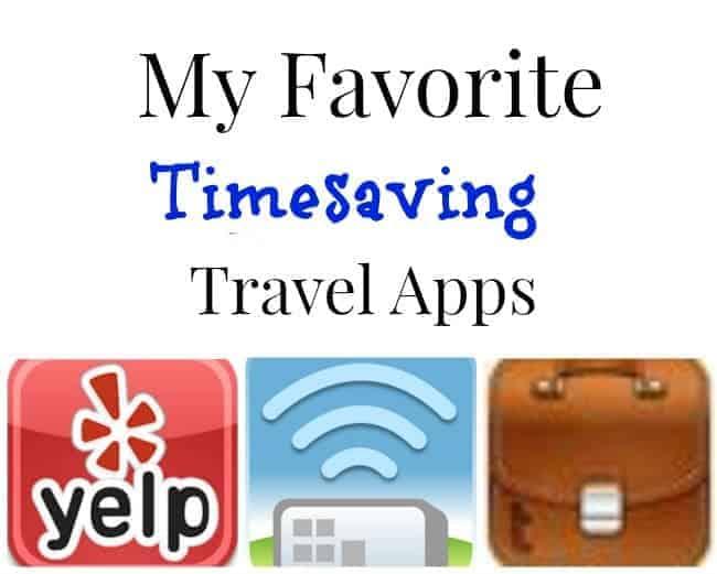 Timesaving Travel Apps
