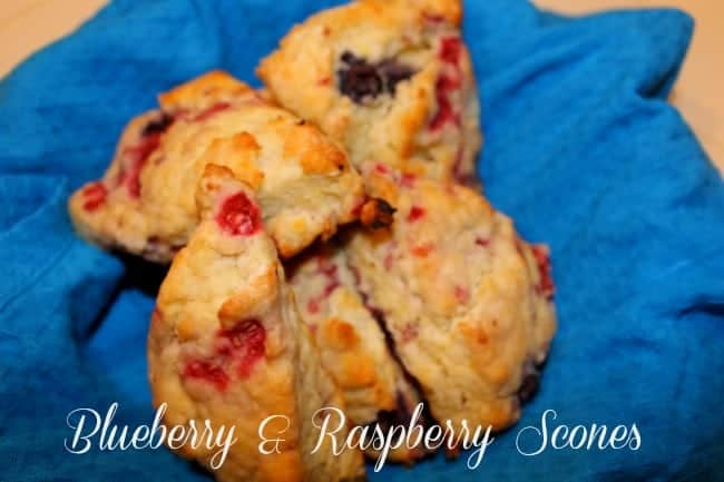 Blueberry-Raspbery-scones