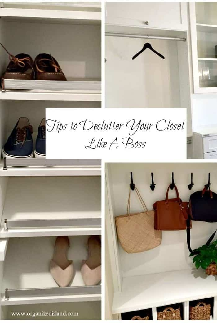 Decluttering The Closet