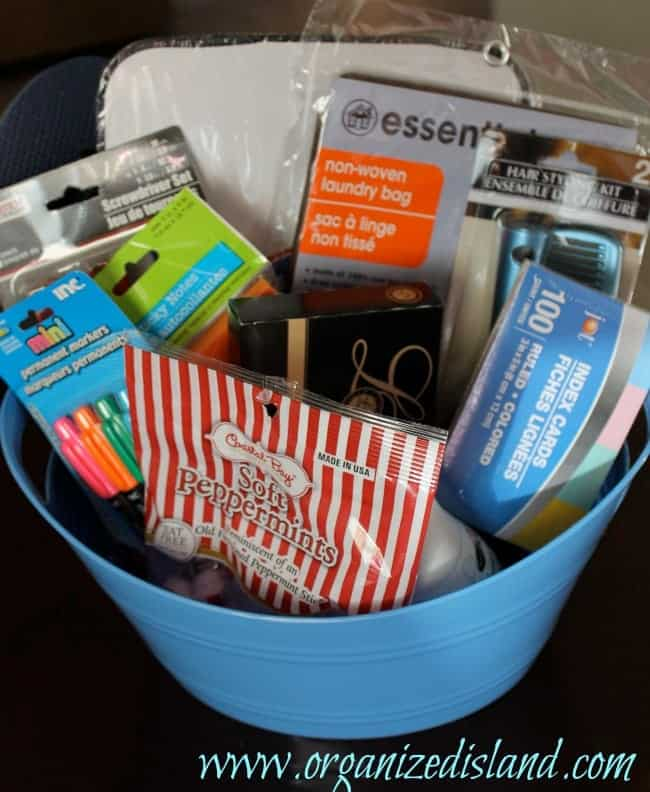 Dollar Tree Gift Basket Idea