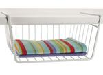 12 inch under shelf storage basket