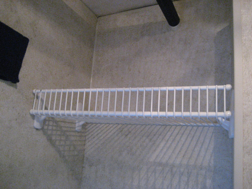 9 Inch Profile Wire Shelving