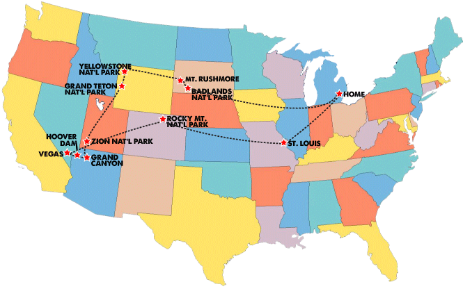 RV Road Trip Across the US