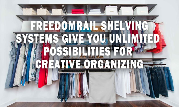 freedomRail Shelving Systems