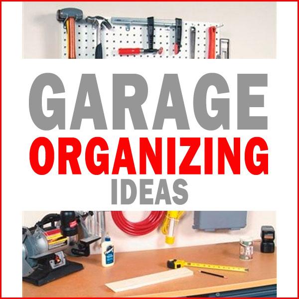 garage organizing ideas