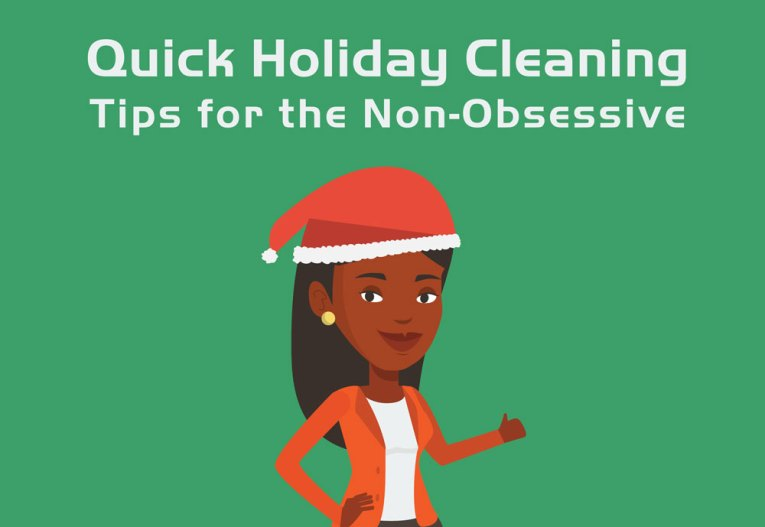 quick holiday cleaning