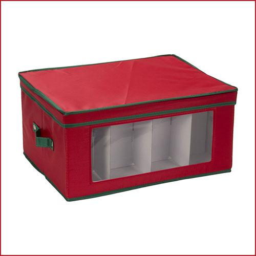 Holiday Stemware Storage