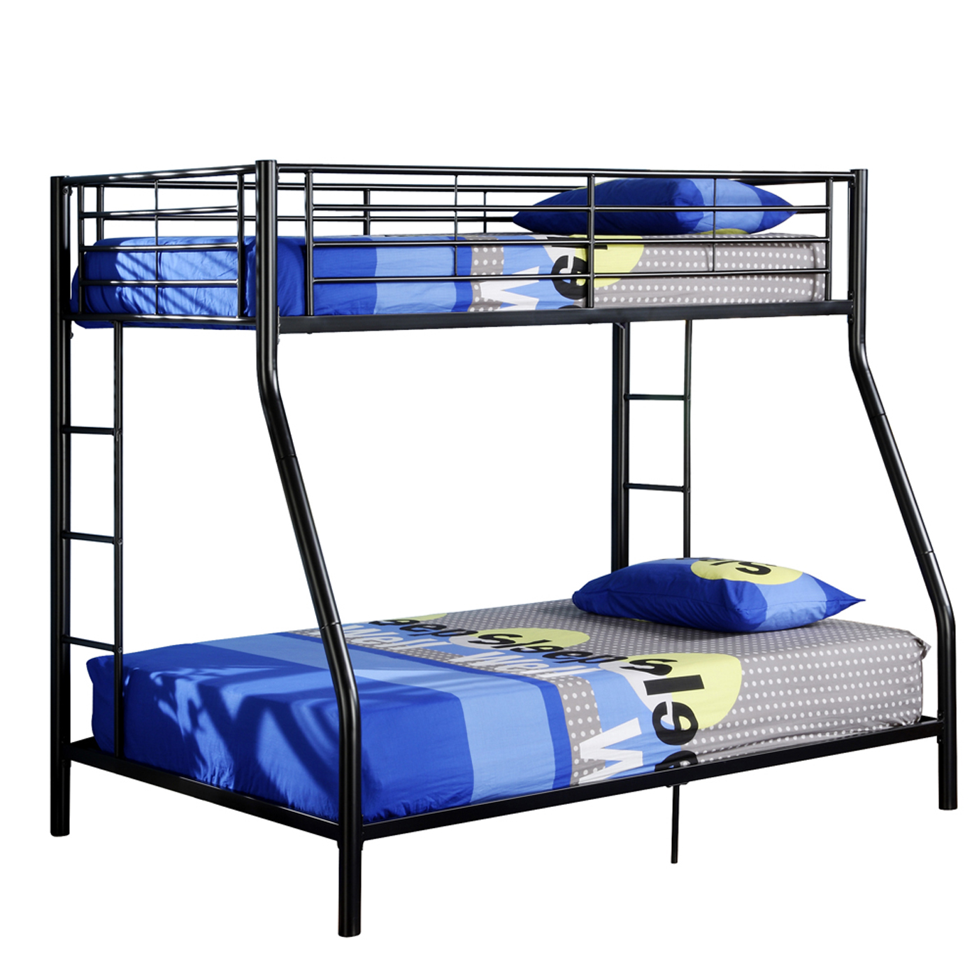 Fashionable Mattresses Included Premium Metal Twin Over Full Bunk Bed Image Premium Metal Twin Over Full Bunk Bed Bunk Beds Twin Over Full Bunk Beds Desk Twin Over Full Bunk Beds baby Twin Over Full Bunk Beds