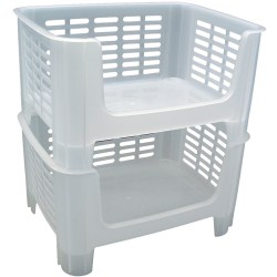 Small Of Stackable Storage Bins